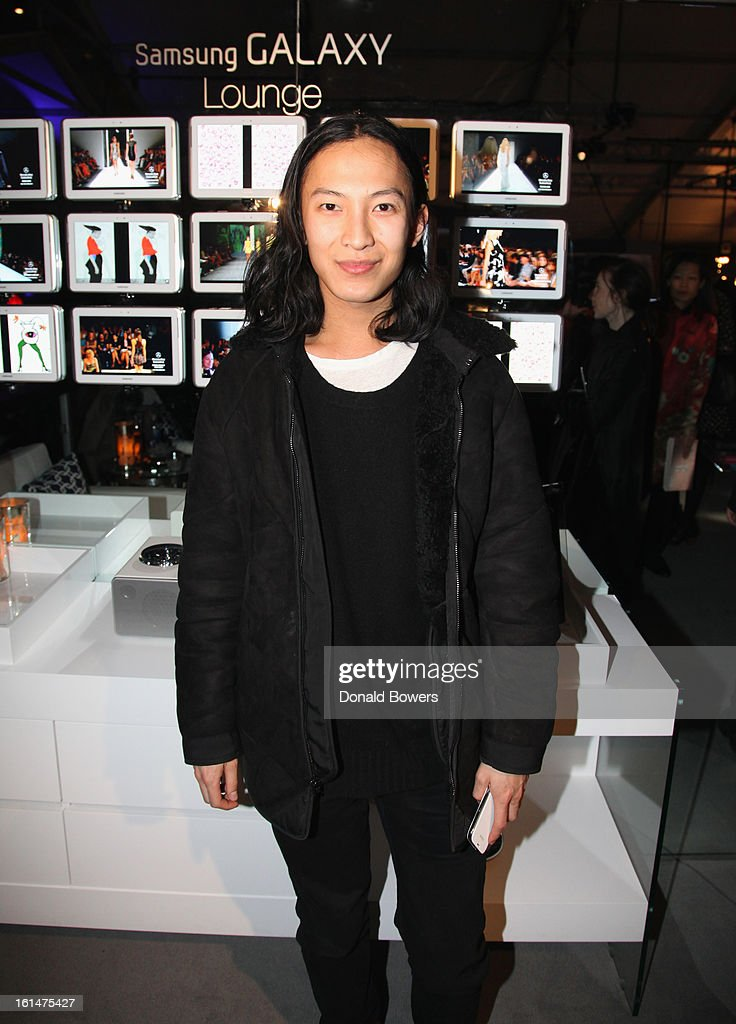 Alexander Wang attends the Alexander Wang reception at the Samsung Galaxy Lounge with Art Start at Mercedes-Benz Fashion Week Fall 2013 Collections at Lincoln Center on February 10, 2013 in New York City.