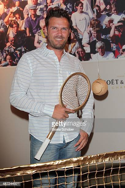 Alexander Waske attends the BMW Open Players Night at Rilano No 6 on April 28 2014 in Munich Germany