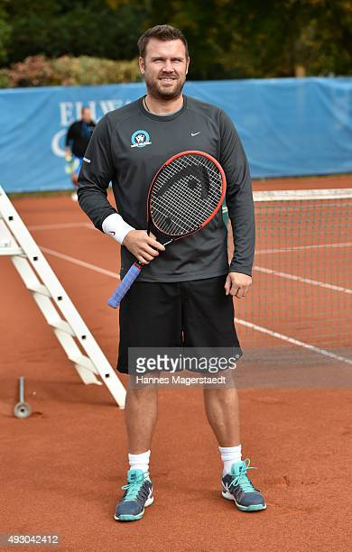 Alexander Waske during the 'Golden RacketCharity2015Tournament' on October 17 2015 in Munich Germany