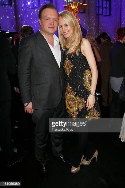 Alexander zu SchaumburgLippe and Nadja Anna zu SchaumburgLippe attend the 'Festival Night by Bunte and BMW' at the 63rd Berlinale International Film...