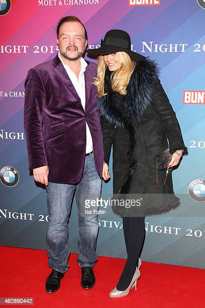 Alexander zu SchaumburgLippe and Nadja zu SchaumburgLippe attend the Bunte BMW Festival Night 2015 on February 06 2015 in Berlin Germany