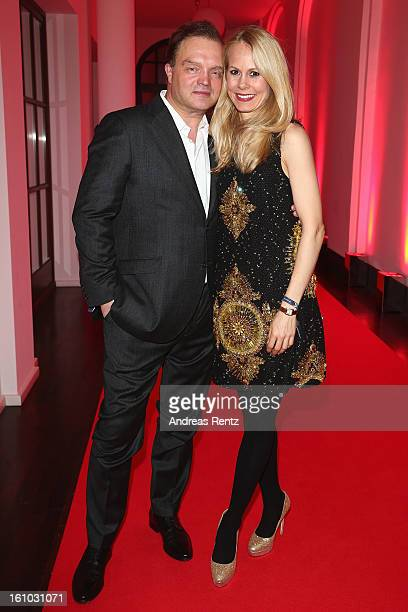 Alexander zu SchaumburgLippe and wife Nadja Anna zu SchaumburgLippe attend the Festival Night by Bunte and BMW at Humboldt Carre on February 8 2013...