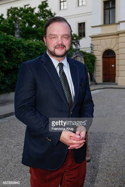 Alexander zu SchaumburgLippe attends the Thurn Taxis Castle Festival 2014 Rigoletto on July 18 2014 in Regensburg Germany