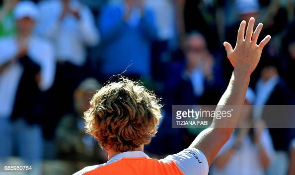 ITALY-TENNIS-ATP : News Photo