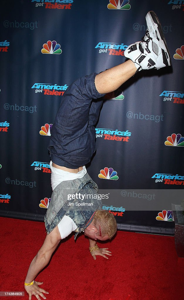 Alexandr Magala attends 'Americas Got Talent' Season 8 Post-Show Red Carpet Event at Radio City Music Hall on July 24, 2013 in New York City.