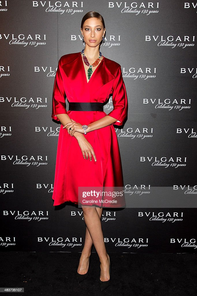 Alexandra Agoston at the 130th Anniversary of Bvlgari Gala Dinner on April 10, 2014 in Sydney, Australia.
