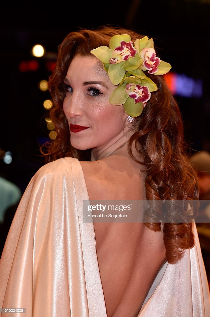 Alexandra Anthony attends the '24 Wochen' premiere during the 66th Berlinale International Film Festival Berlin at Berlinale Palace on February 14, 2016 in Berlin, Germany.