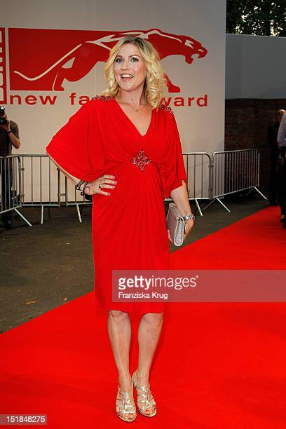 Alexandra Bechtel attends the red carpet for the New Faces Award Fashion 2012 at Rheinterrasse on July 28 2012 in Duesseldorf Germany