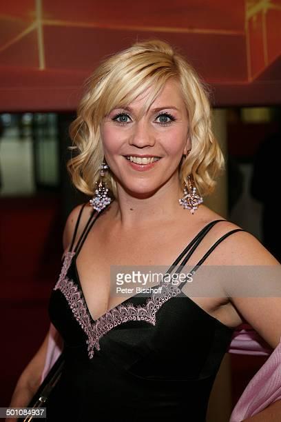 Alexandra Bechtel ZDFGala Verleihung 'Deutscher Fernsehpreis 2008' 'Coloneum' Köln Deutschland Europa roter Teppich Party Feier Moderatorin Promi MW...