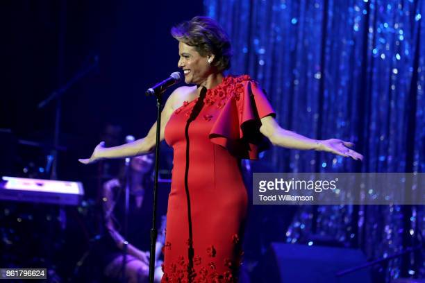 Alexandra Billings performs onstage at National Breast Cancer Coalition Fund's 17th Annual Les Girls Cabaret at Avalon Hollywood on October 15 2017...