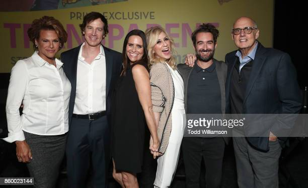 Alexandra Billings Rob Huebel Amy Landecker Judith Light Jay Duplass and Jeffrey Tambor attend Amazon Prime Exclusive Series Transparent Season 4 SAG...