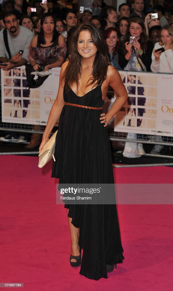 Alexandra 'Binky' Felstead attends the European premiere of 'One Day' at Vue Westfield on August 23, 2011 in London, England.