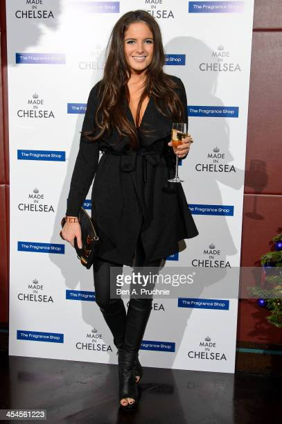Alexandra 'Binky' Felstead attends the Made in Chelsea perfume launch at Raffles on December 9 2013 in London England