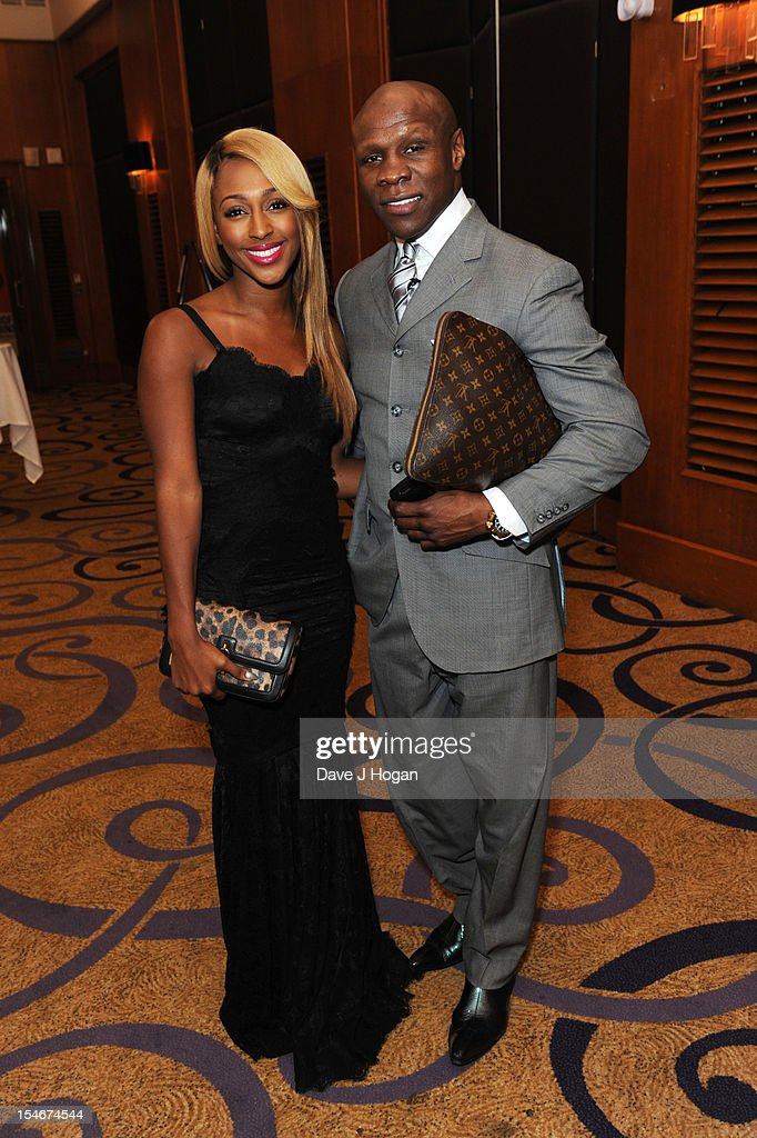 <a gi-track='captionPersonalityLinkClicked' href=/galleries/search?phrase=Alexandra+Burke&family=editorial&specificpeople=5592177 ng-click='$event.stopPropagation()'>Alexandra Burke</a> and <a gi-track='captionPersonalityLinkClicked' href=/galleries/search?phrase=Chris+Eubank&family=editorial&specificpeople=216217 ng-click='$event.stopPropagation()'>Chris Eubank</a> attend a Nordoff Robbins Boxing fundraising dinner at The Grand Connaught Rooms on October 24, 2012 in London, England.