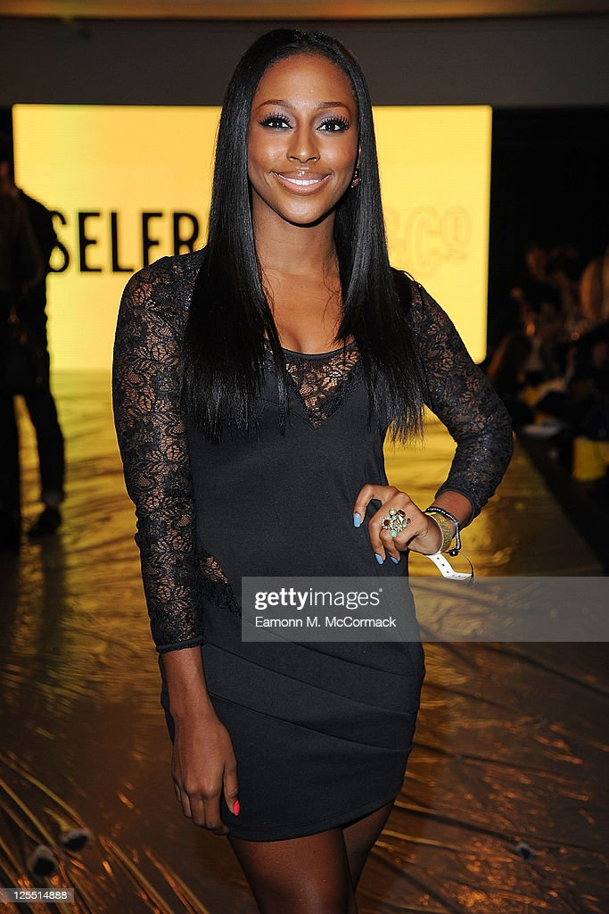 Alexandra Burke at The Launch Of House Of Dereon By Beyonce And Tina Knowles at Selfridges on September 17 2011 in London England