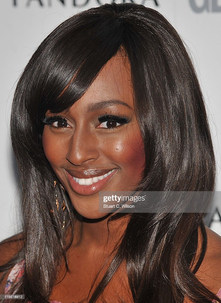 Alexandra Burke attends Glamour Women Of The Year Awards at Berkeley Square Gardens on June 7, 2011 in London, England.