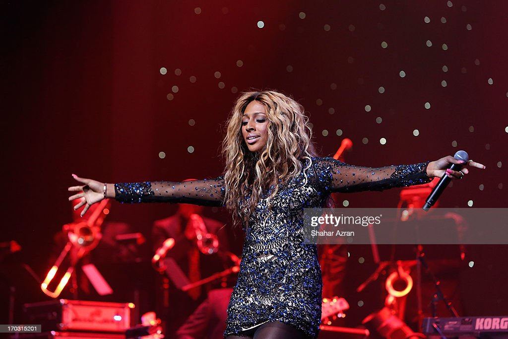 Alexandra Burke attends the 8th annual Apollo Theater Spring Gala Concert at The Apollo Theater on June 10, 2013 in New York City.