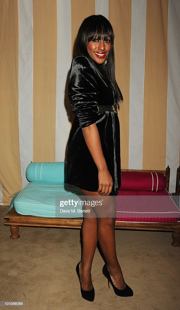 Alexandra Burke attends the afterparty following the UK film premiere of 'Sex and the City 2' at The Kensington Palace on May 27, 2010 in London, England.