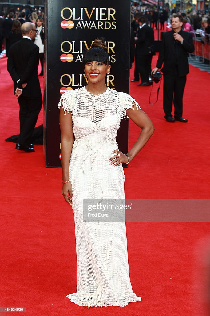 <a gi-track='captionPersonalityLinkClicked' href=/galleries/search?phrase=Alexandra+Burke&family=editorial&specificpeople=5592177 ng-click='$event.stopPropagation()'>Alexandra Burke</a> attends The Laurence Olivier Awards with MasterCard at The Royal Opera House on April 13, 2014 in London, England.