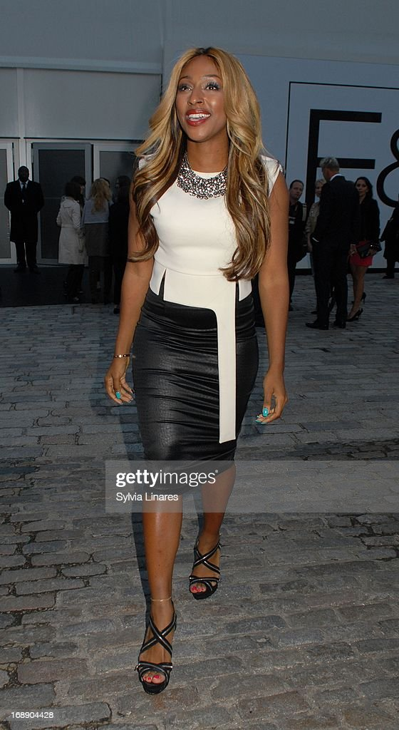 Alexandra Burke leaving Somerset House on May 16, 2013 in London, England.