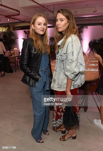 Alexandra Carl and Quentin Jones attend a private dinner hosted by Mih Jeans to celebrate their 10th anniversary at Brewer Street Car Park on May 5...