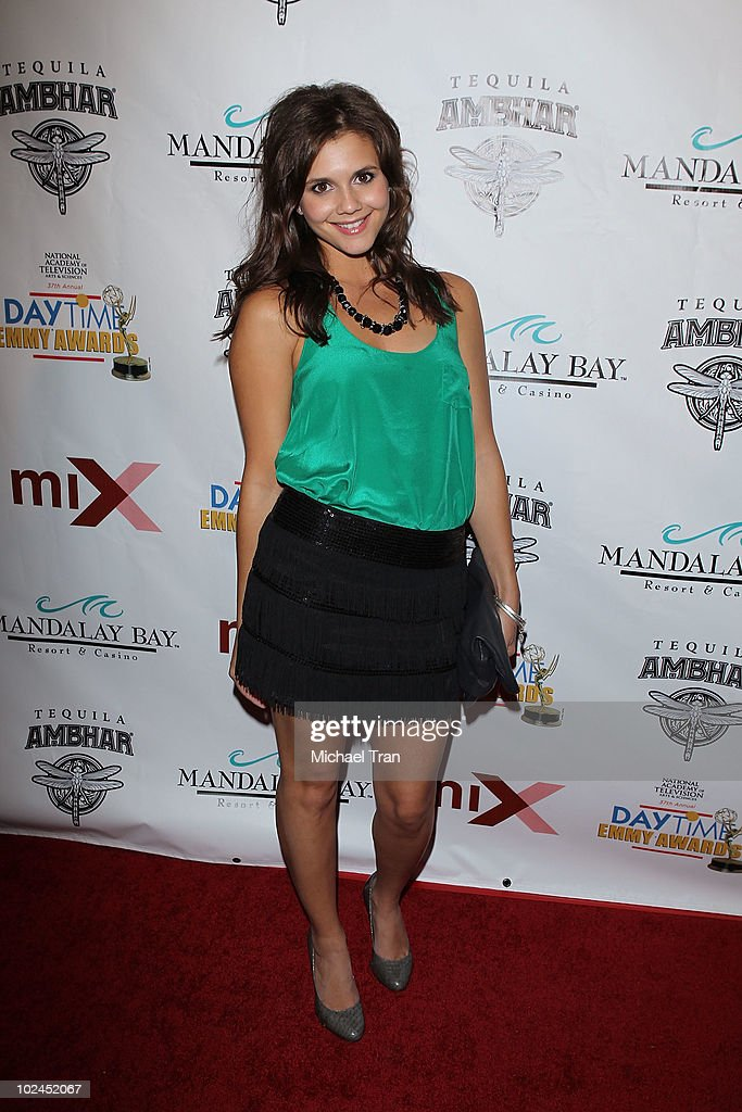<a gi-track='captionPersonalityLinkClicked' href=/galleries/search?phrase=Alexandra+Chando&family=editorial&specificpeople=665521 ng-click='$event.stopPropagation()'>Alexandra Chando</a> arrives to the 2010 Daytime Emmy Awards Official Pre-Party held at miX Lounge - THEhotel at Mandalay Bay on June 26, 2010 in Las Vegas, Nevada.