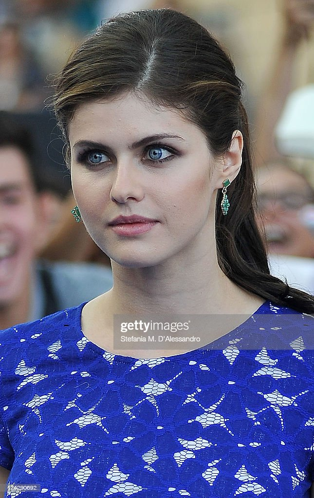 <a gi-track='captionPersonalityLinkClicked' href=/galleries/search?phrase=Alexandra+Daddario&family=editorial&specificpeople=5679721 ng-click='$event.stopPropagation()'>Alexandra Daddario</a> attends 2013 Giffoni Film Festival bllue carpet on July 23, 2013 in Giffoni Valle Piana, Italy.