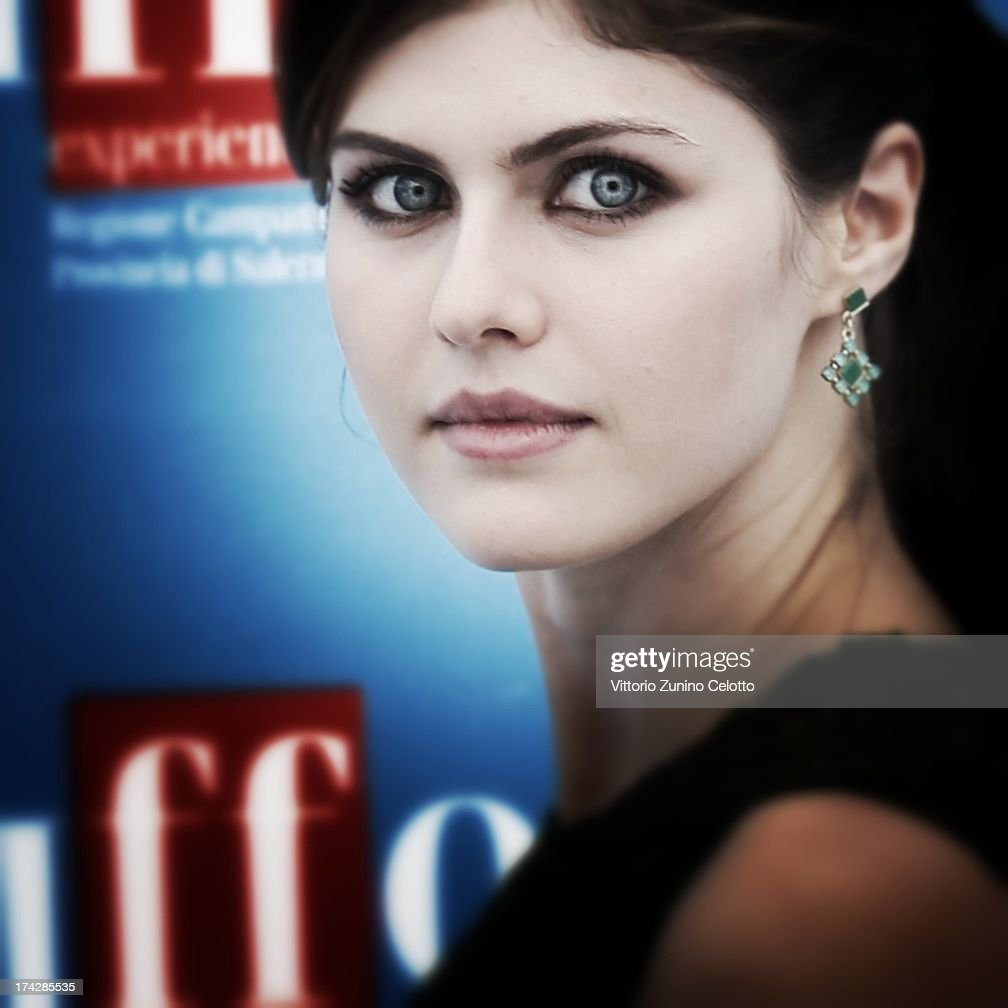 <a gi-track='captionPersonalityLinkClicked' href=/galleries/search?phrase=Alexandra+Daddario&family=editorial&specificpeople=5679721 ng-click='$event.stopPropagation()'>Alexandra Daddario</a> attends 2013 Giffoni Film Festival photocall on July 23, 2013 in Giffoni Valle Piana, Italy.