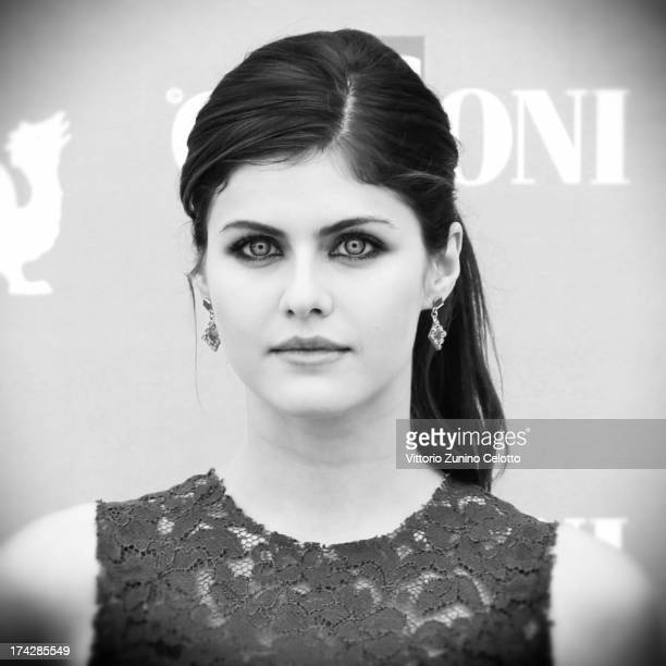 Alexandra Daddario attends 2013 Giffoni Film Festival photocall on July 23 2013 in Giffoni Valle Piana Italy