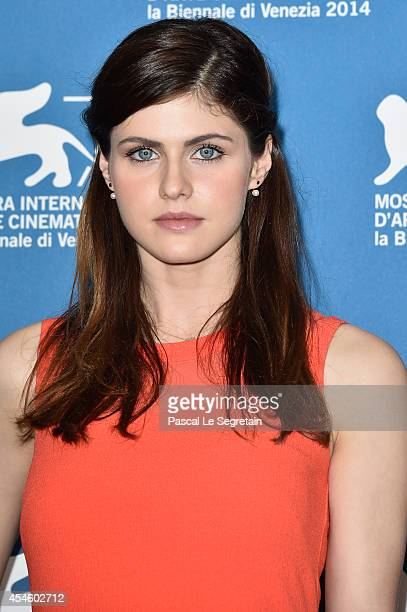 Alexandra Daddario attends 'Burying The Ex' Photocall during the 71st Venice Film Festival on September 4 2014 in Venice Italy