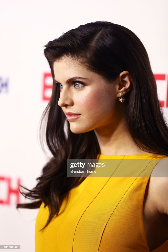 Alexandra Daddario attends the Australian premiere of 'Baywatch' at Hoyts EQ on May 18, 2017 in Sydney, Australia.
