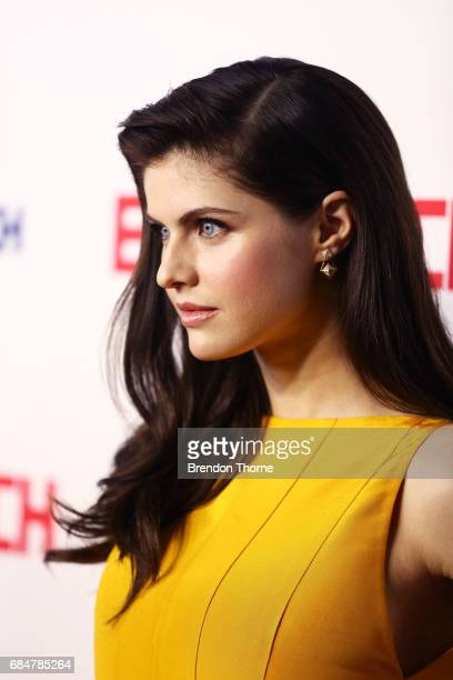 Alexandra Daddario attends the Australian premiere of 'Baywatch' at Hoyts EQ on May 18 2017 in Sydney Australia