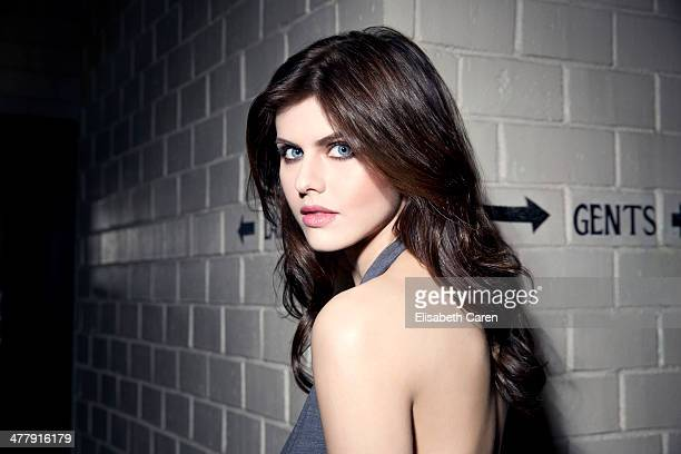 Alexandra Daddario for Gotham Magazine on December 8 2013 in Los Angeles California ON DOMESTIC EMBARGO UNTIL APRIL 15 2014 ON INTERNATIONAL EMBARGO...