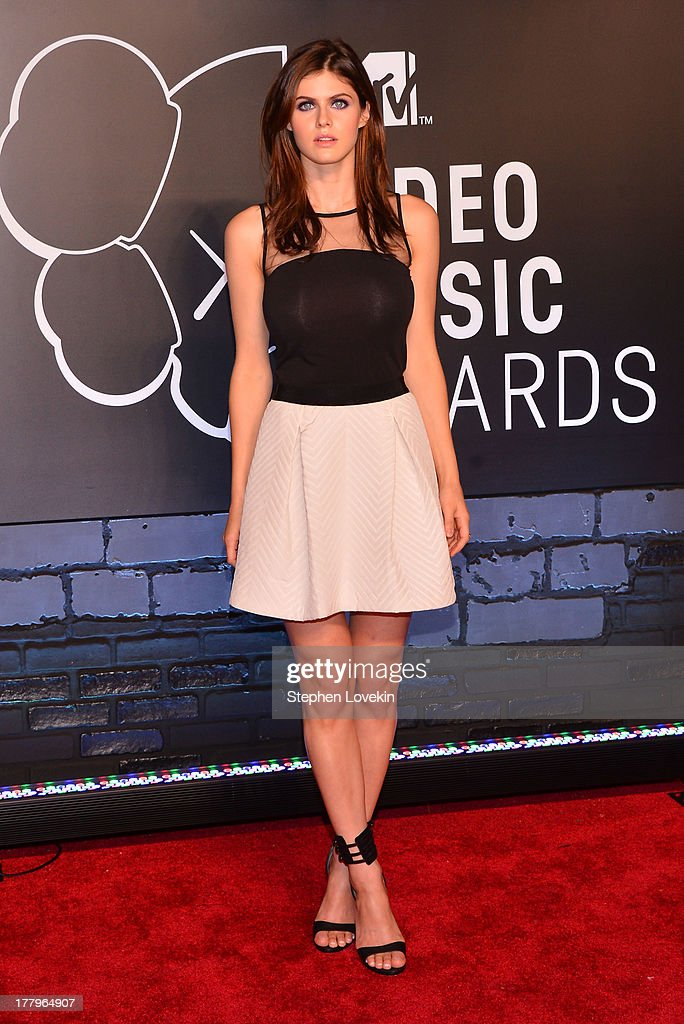 Alexandra Daddiario attends the 2013 MTV Video Music Awards at the Barclays Center on August 25, 2013 in the Brooklyn borough of New York City.