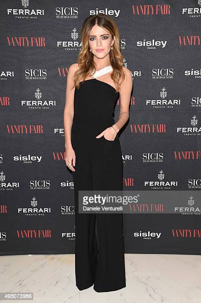 Alexandra Dinu attends 'Cinema Italia' Exhibition Opening during the 10th Rome Film Fest at on October 17 2015 in Rome Italy