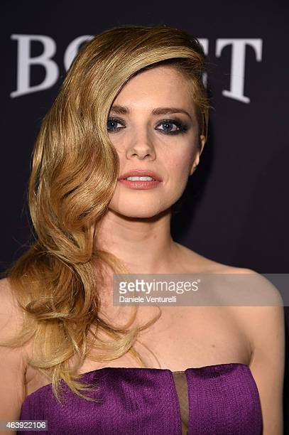 Alexandra Dinu attends Hollywood Domino Bovet 1822's 8th Annual PreOscar Hollywood Domino Gala Tournament at Sunset Tower Hotel on February 19 2015...