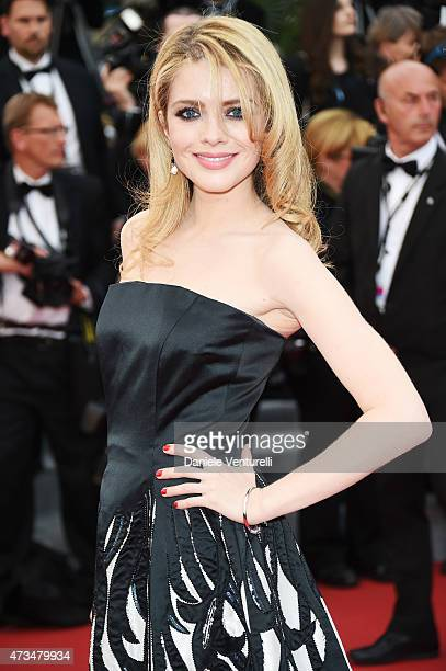 Alexandra Dinu attends the 'Irrational Man' Premiere during the 68th annual Cannes Film Festival on May 15 2015 in Cannes France