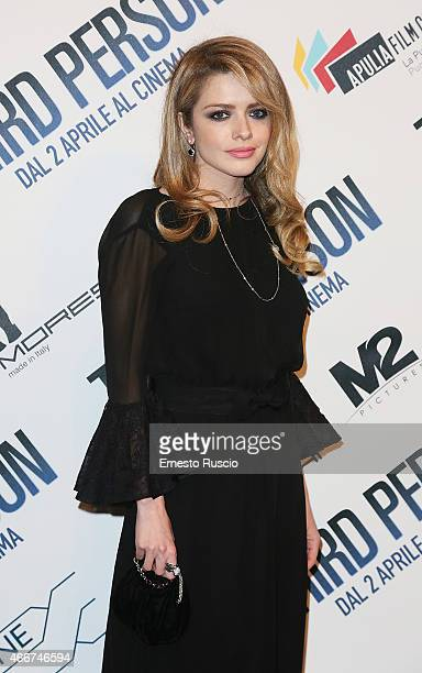 Alexandra Dinu attends the 'Third Person' screening at Cinema Adriano on March 18 2015 in Rome Italy