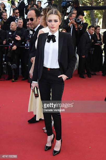 Alexandra Dinu attends the 'Youth' Premiere during the 68th annual Cannes Film Festival on May 20 2015 in Cannes France