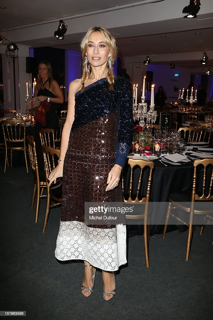 Alexandra Golovanof attends the Babeth Djian Hosts Dinner For Rwanda To The Benefit Of A.E.M. on December 6, 2012 in Paris, France.