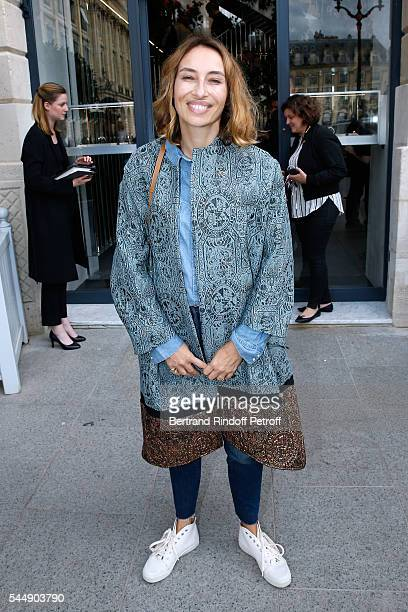Alexandra Golovanoff attend the Repossi Vendome Flagship Store Inauguration at Place Vendome on July 4 2016 in Paris France