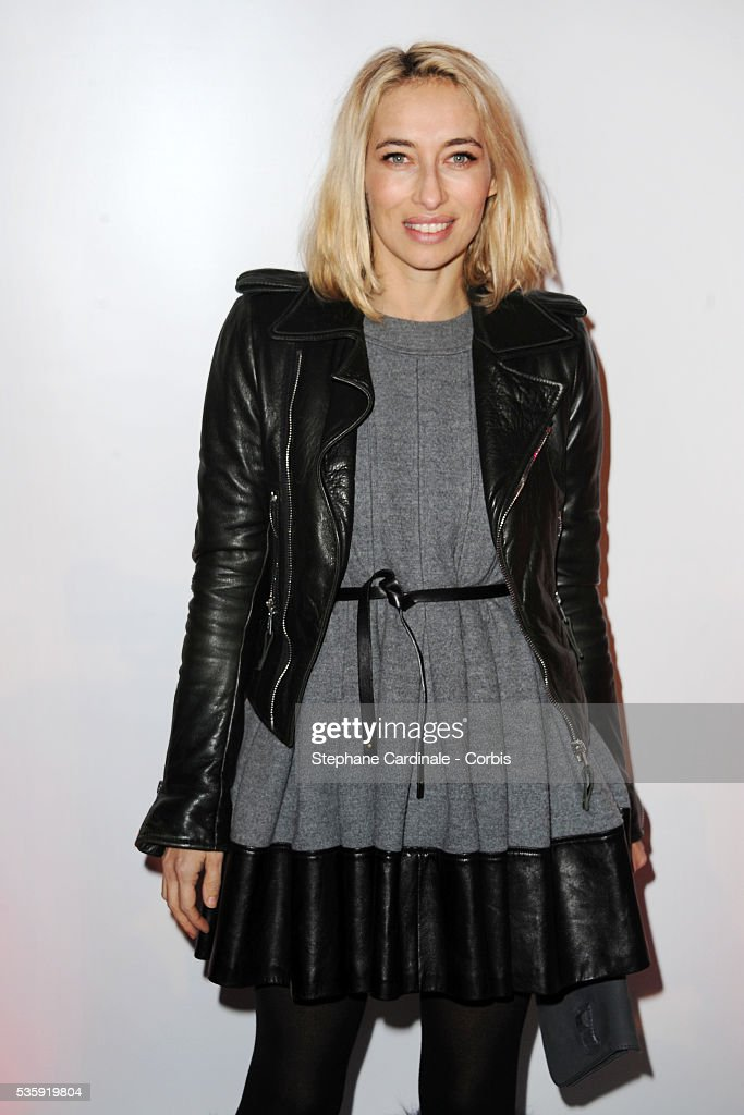 Alexandra Golovanoff attends 'Madame Figaro' 30th Anniversary Party, at Salle Wagram in Paris.