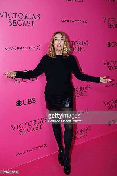 Alexandra Golovanoff attends the 2016 Victoria's Secret Fashion Show Held at Grand Palais on November 30 2016 in Paris France