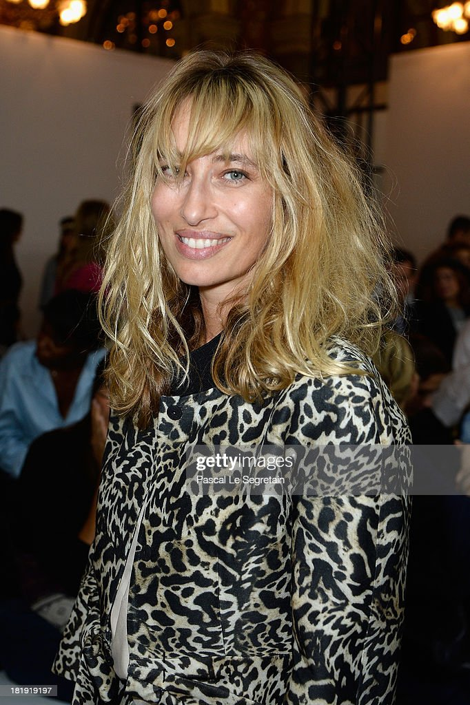 <a gi-track='captionPersonalityLinkClicked' href=/galleries/search?phrase=Alexandra+Golovanoff&family=editorial&specificpeople=4119816 ng-click='$event.stopPropagation()'>Alexandra Golovanoff</a> attends the Balmain show as part of the Paris Fashion Week Womenswear Spring/Summer 2014 at Grand Hotel Intercontinental on September 26, 2013 in Paris, France.