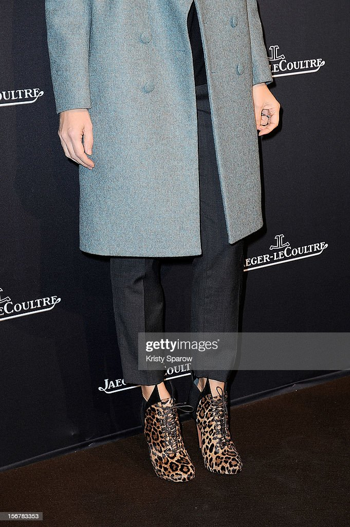 Alexandra Golovanoff attends the Jaeger-LeCoultre Place Vendome Boutique Opening at Jaeger-LeCoultre Boutique on November 20, 2012 in Paris.