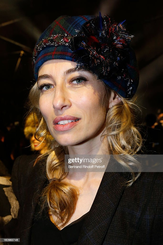 <a gi-track='captionPersonalityLinkClicked' href=/galleries/search?phrase=Alexandra+Golovanoff&family=editorial&specificpeople=4119816 ng-click='$event.stopPropagation()'>Alexandra Golovanoff</a> attends the Lanvin Fall/Winter 2013 Ready-to-Wear show as part of Paris Fashion Week on February 28, 2013 in Paris, France.