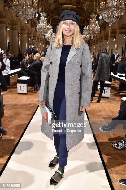 Alexandra Golovanoff attends the Lanvin show as part of the Paris Fashion Week Womenswear Fall/Winter 2017/2018 on March 1 2017 in Paris France