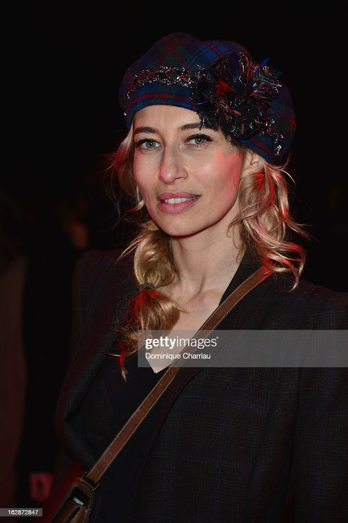 <a gi-track='captionPersonalityLinkClicked' href=/galleries/search?phrase=Alexandra+Golovanoff&family=editorial&specificpeople=4119816 ng-click='$event.stopPropagation()'>Alexandra Golovanoff</a> attends the Nina Ricci Fall/Winter 2013 Ready-to-Wear show as part of Paris Fashion Week on February 28, 2013 in Paris, France.