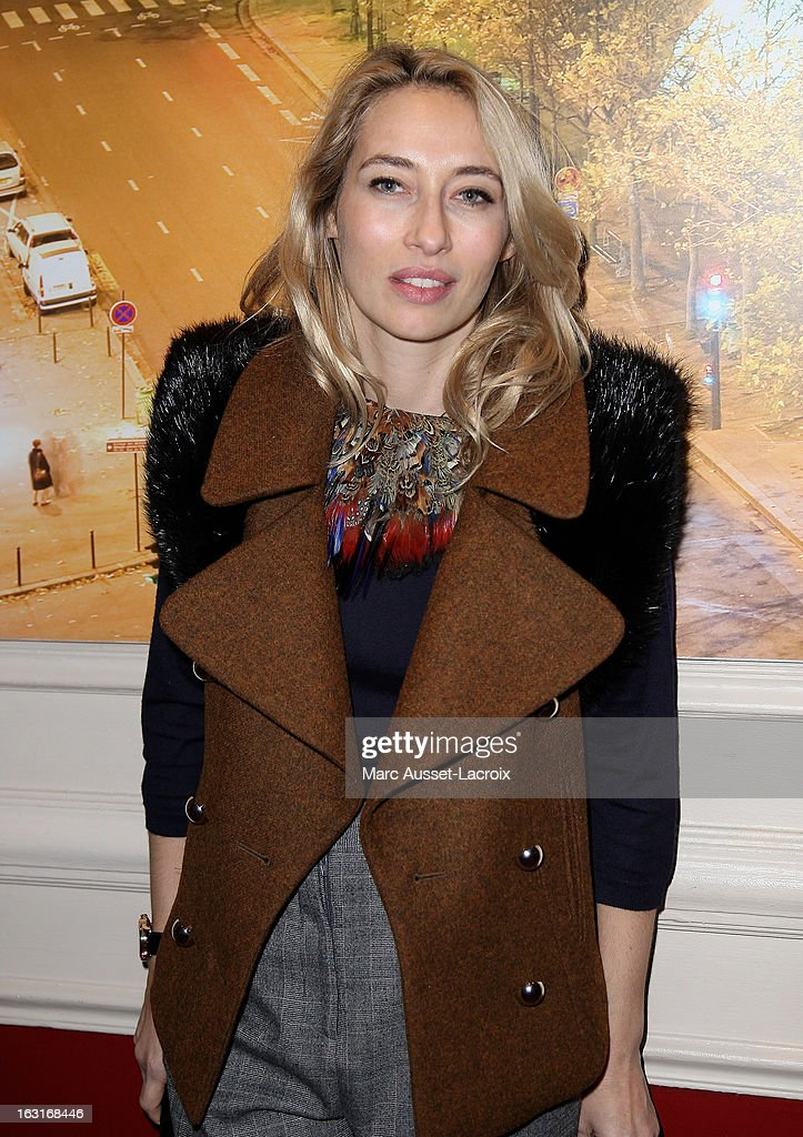 Alexandra Golovanoff attends the Zadig&Voltaire Fall/Winter 2013 Ready-to-Wear show as part of Paris Fashion Week at Hotel Westin on March 5, 2013 in Paris, France.