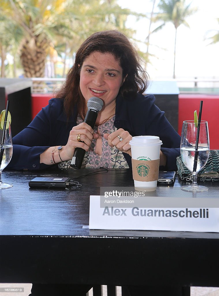 Alexandra Guarnaschelli attends What It Takes To Be An Iron Chef at Hotel Victor on February 22, 2013 in Miami Beach, Florida.